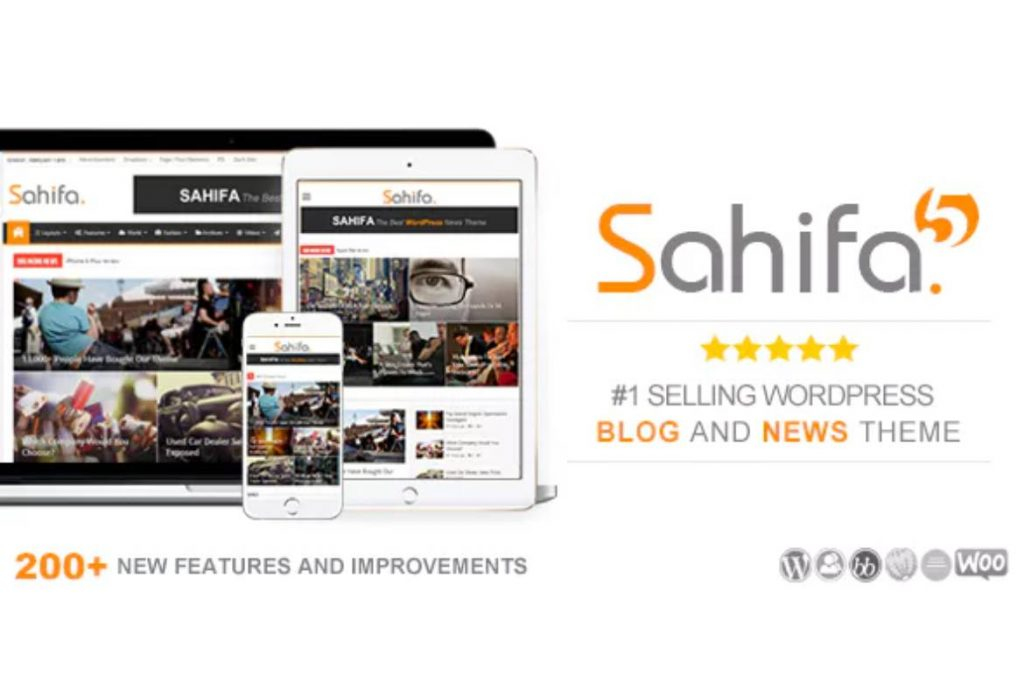 Theme Sahifa v5.6.17 – Responsive WordPress News, Magazine