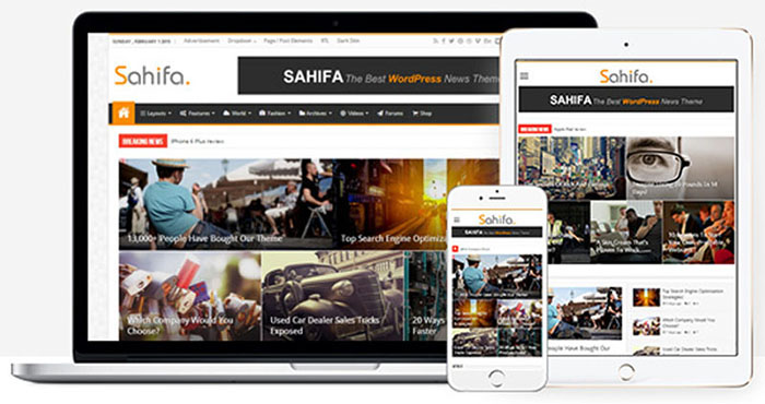 Tải Theme Sahifa v5.6.17 – Responsive WordPress News, Magazine